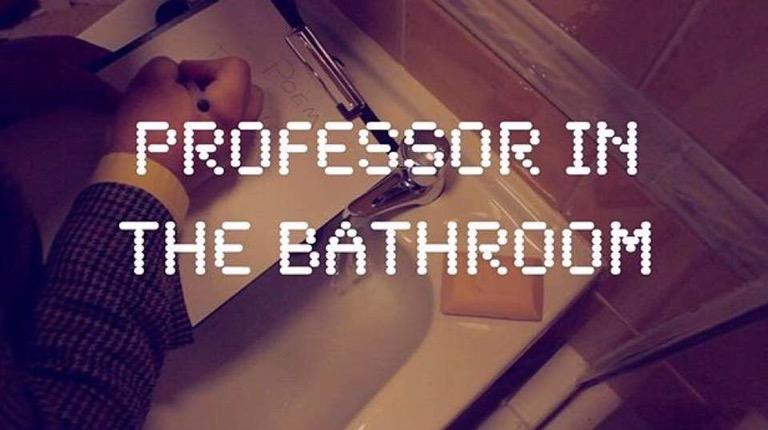 Professor in the Bathroom – A film diary